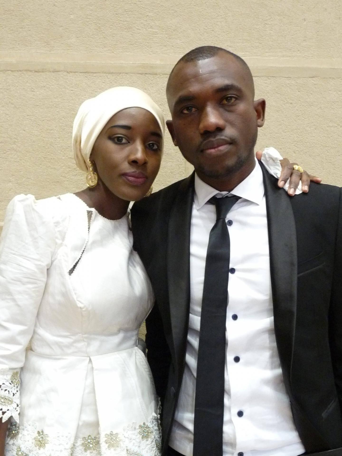 Mingué Diop et Cheick Diarra, étudiants.