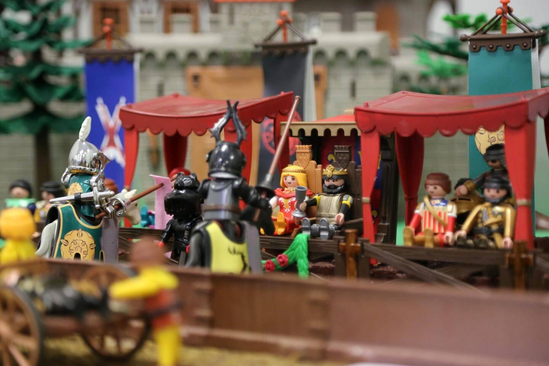 Autre période abordée, le Moyen-Âge et ses tournois de chevaliers fascinent toujours les visiteurs.