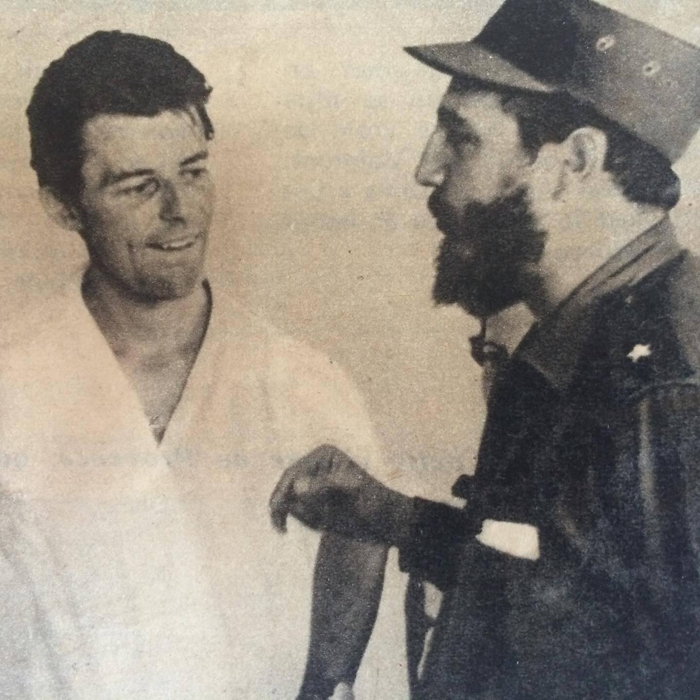 Été 1959 à La Havane, il est reçu par un Castro fraîchement arrivé au pouvoir, ce qui fera dire aux proches de Fidel : « Il fut le premier ami de notre Révolution à Paris ».