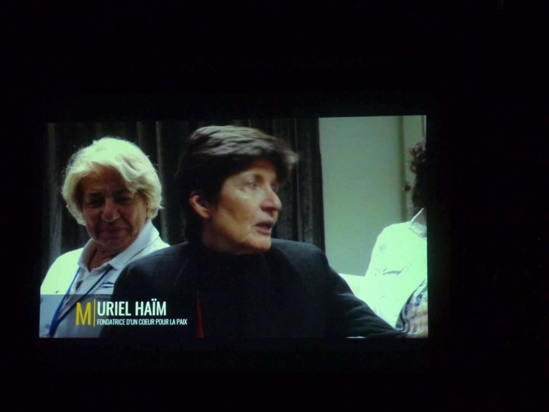 Muriel Haïm, présidente de l'association « Un cœur pour la paix ».