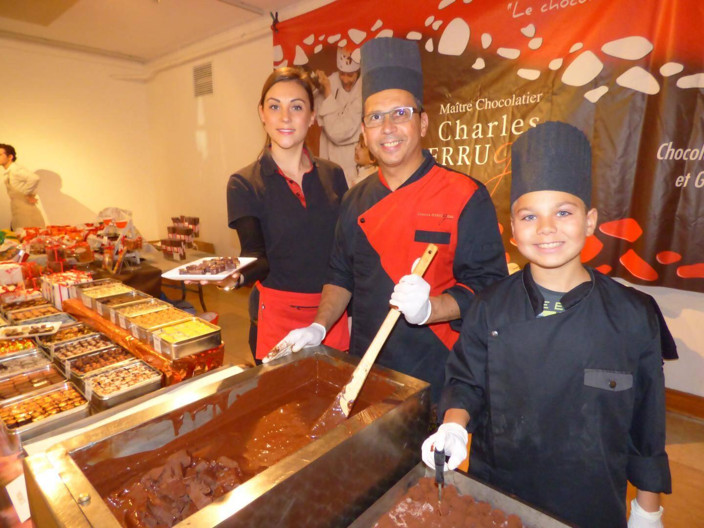 Chocolatiers et gourmands de père en fils, dans la famille Pierrugues.