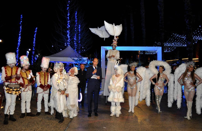 Vendredi le maire Jean-Paul Joseph a inauguré le village du Grand Nord.