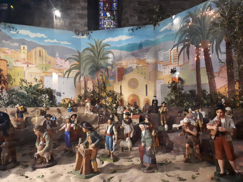 Aujourd'hui de 15 h à 18 h, des animations sont proposées autour de la crèche de l'église Saint-Louis.