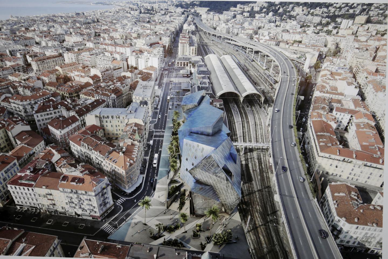 Le projet Iconic ou Diamant, nom dû à sa forme et à son apparence, va transformer le quartier. (Image de synthèse Studio Libeskind)