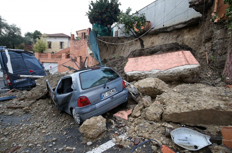 Dimanche 24 novembre dernier, un éboulement boulevard Cernuschi.