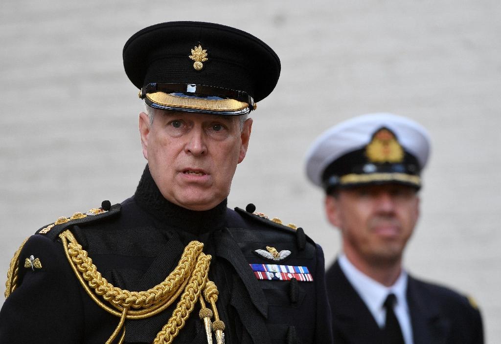 Le prince Andrew à Bruges, en Belgique, le 7 septembre 2019