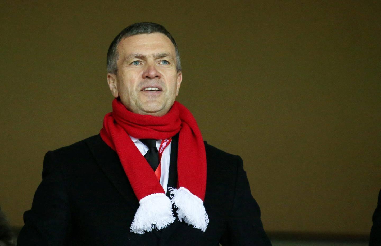 Le vice-président de l'AS Monaco, Oleg Petrov, a soigneusement évité son entraîneur samedi.