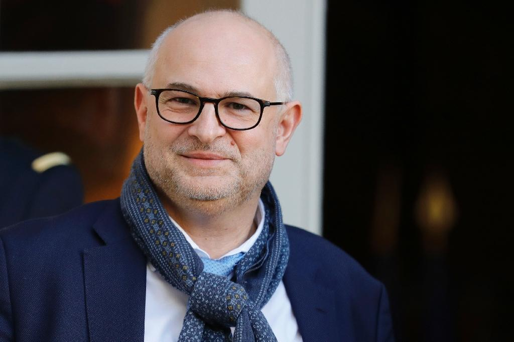 """Le nouveau """"Monsieur Retraites"""" du gouvernement Laurent Pietraszewski à Paris, le 18 décembre 2019."""