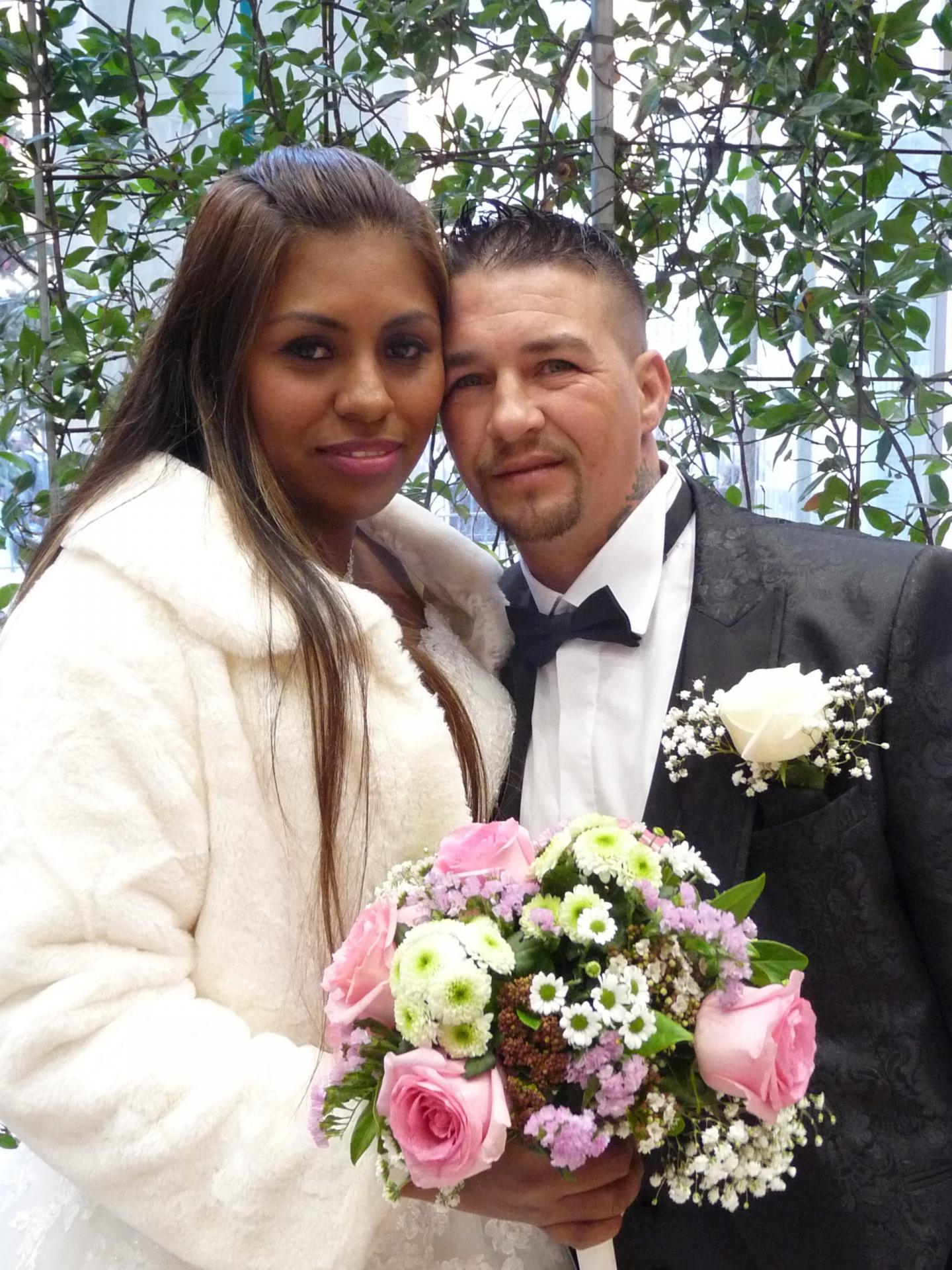 Evelyn Iriarte Rayo, sans emploi, et Joao Correia Raimundo, coffreur.