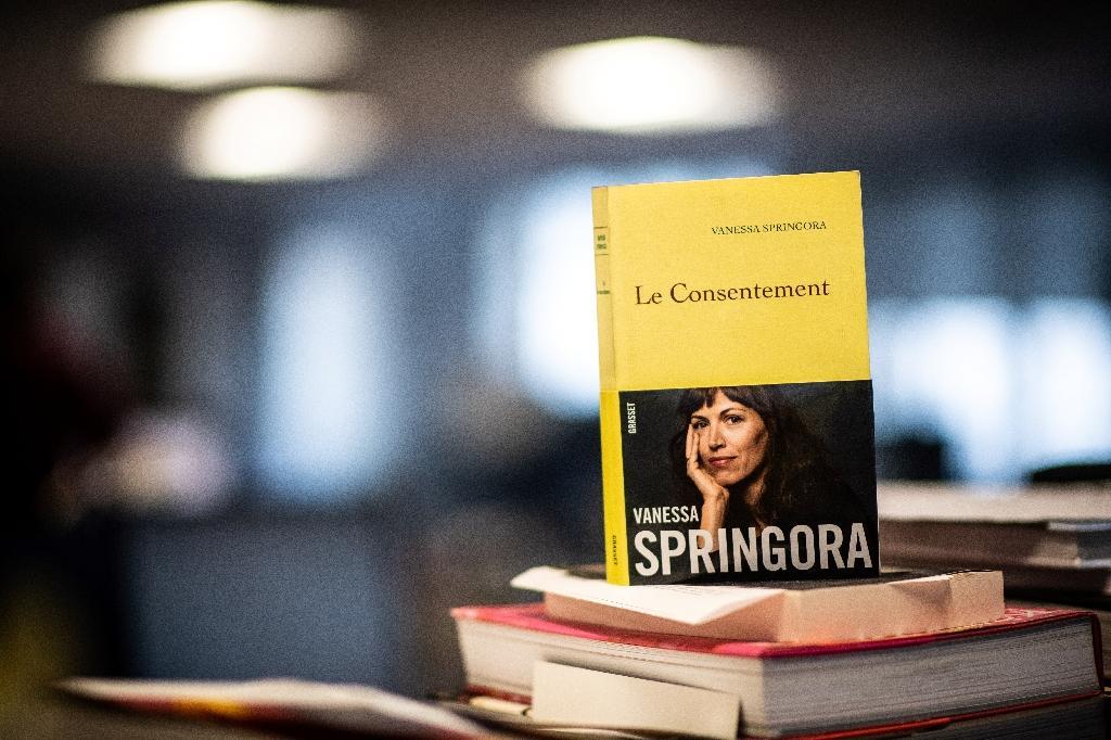 """La couverture du livre de Vanessa Springora """"Le consentement"""", le 31 décembre 2019"""