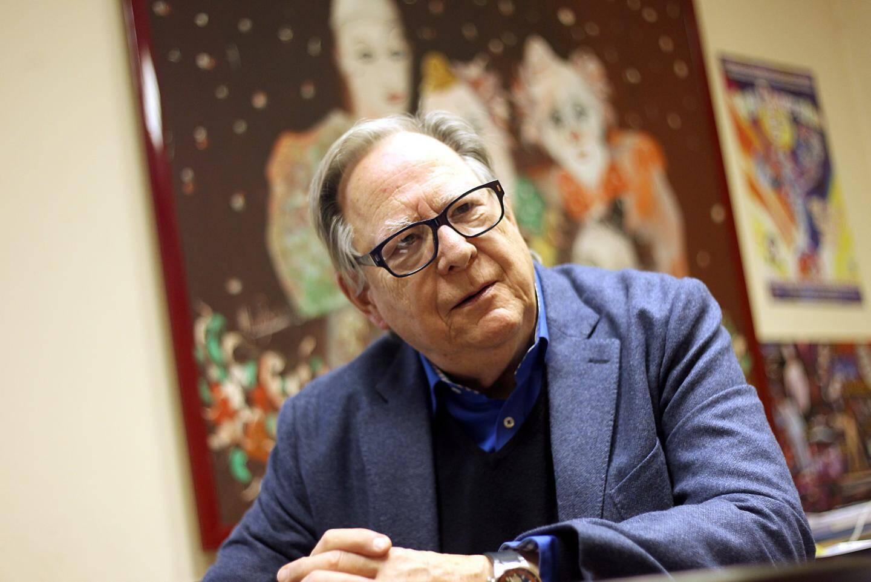 Le directeur artistique du festival, Urs Pilz.