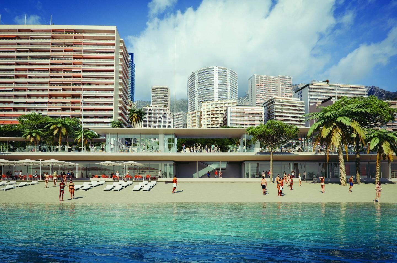 La plage sera rouverte de juin à août 2020.(DR)