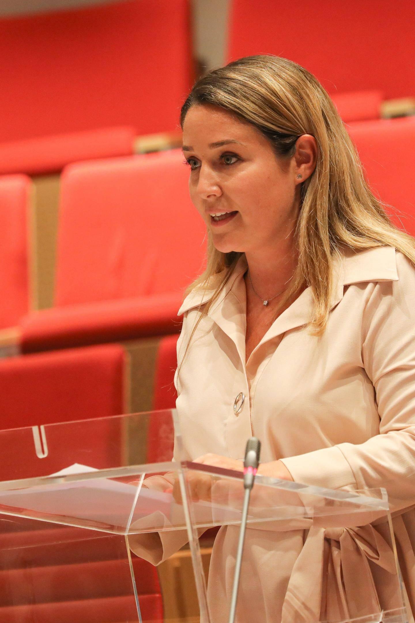 Marine Grisoul, rapporteur de la proposition de loi sur les pratiques de soins non conventionnels.