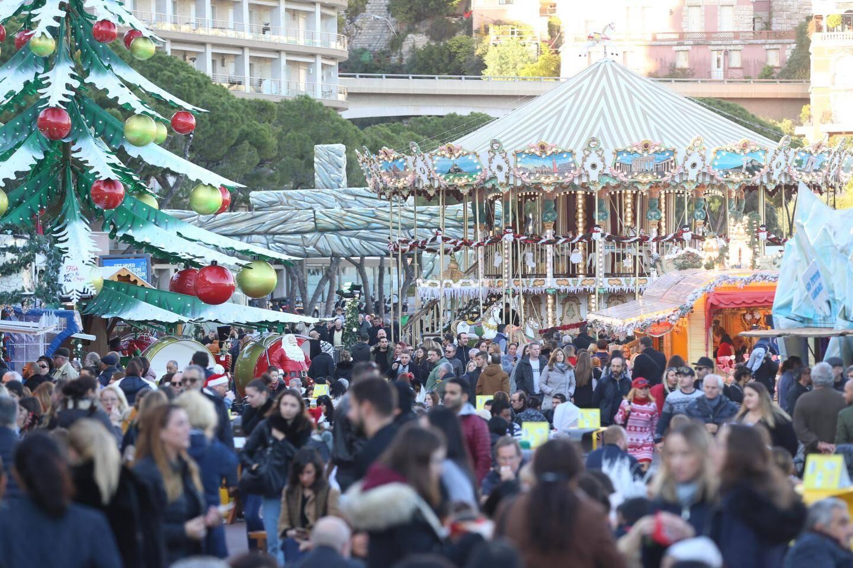 Le village de Noël a attiré beaucoup de monde durant toutes les vacances, y compris tout au long de l'ultime week-end.