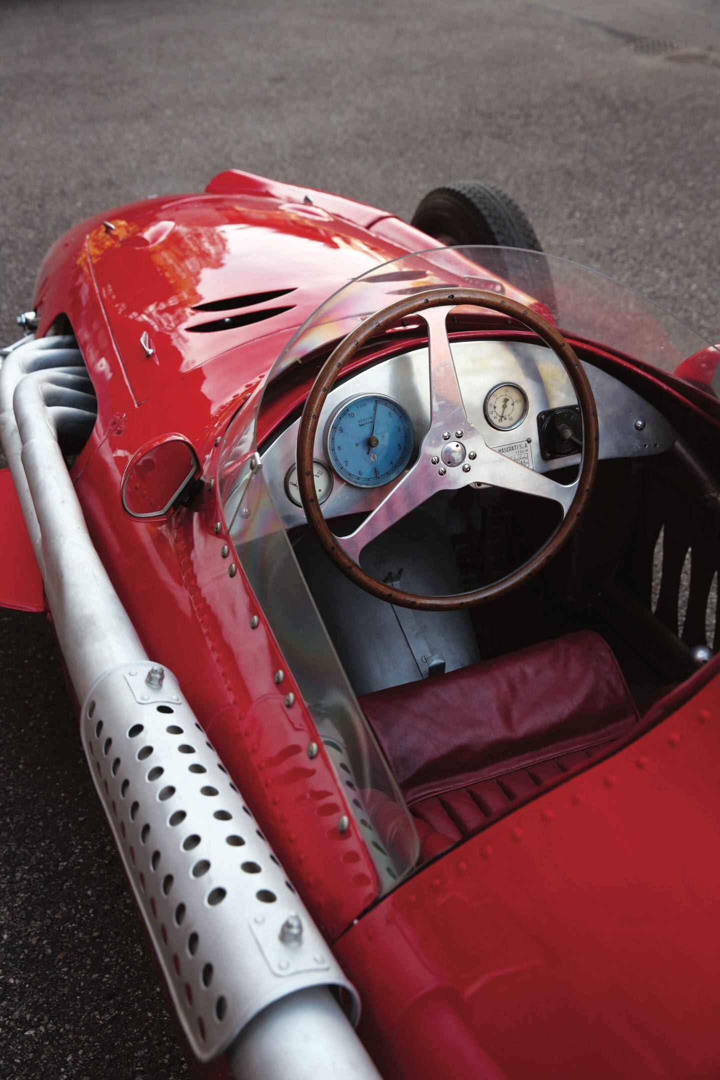 De nombreux trésors seront présentés, comme cette Maserati 250F de 1954.