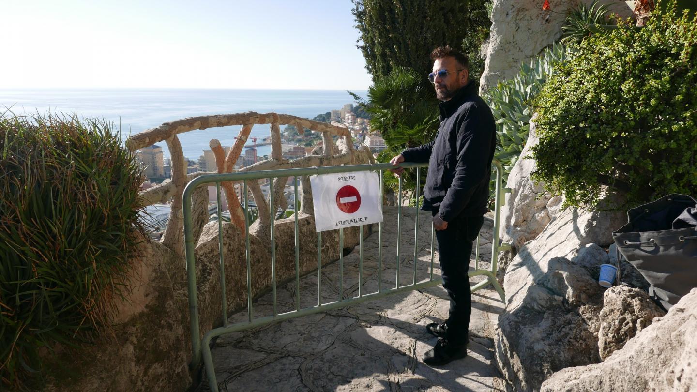 Fabien Menniti, guide de la grotte depuis vingt-deux ans, reconverti en « guide de barrière ».
