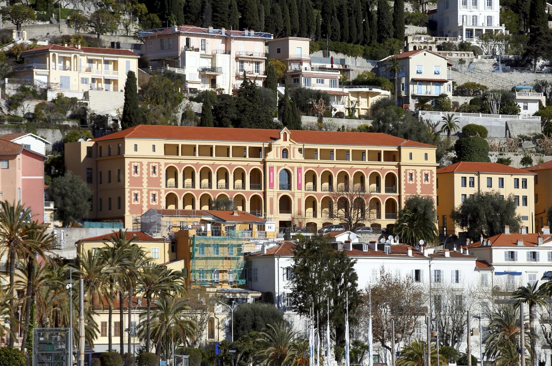 Le campus de Sciences Po domine la Méditerranée, son principal thème de réflexion.
