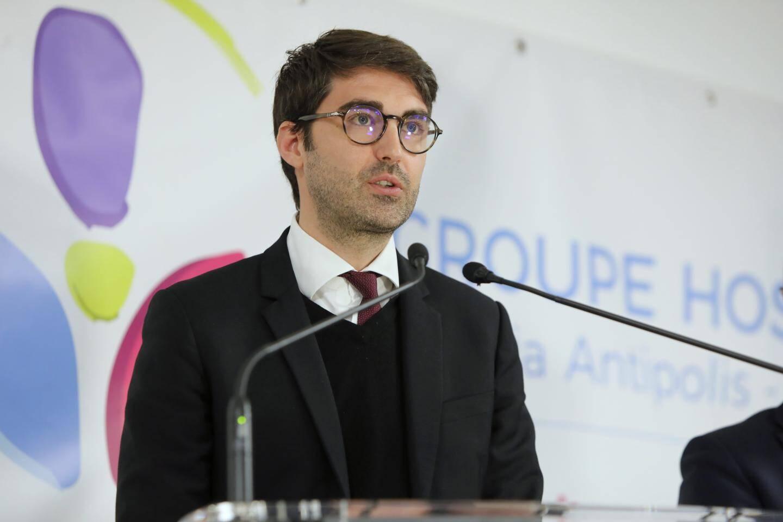 Bastien Ripert-Teilhard, nouveau directeur du centre hospitalier d'Antibes.