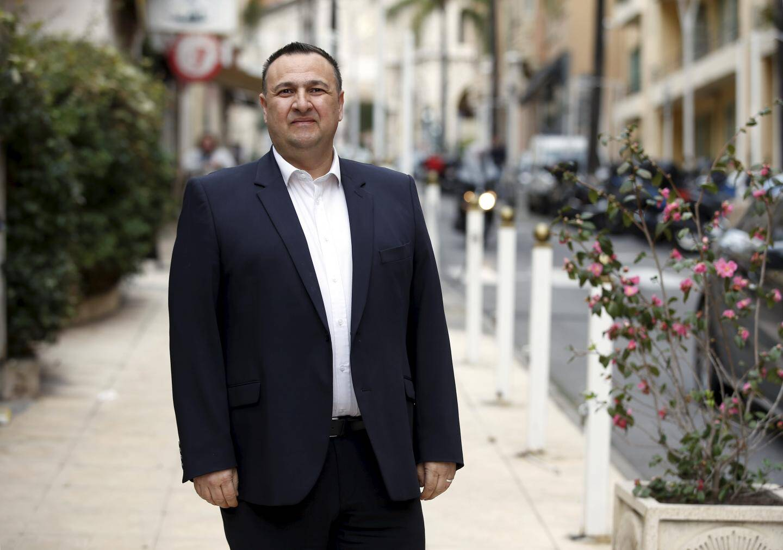 Stéphane Manfredi, candidat sans étiquette à la mairie de Beausoleil.