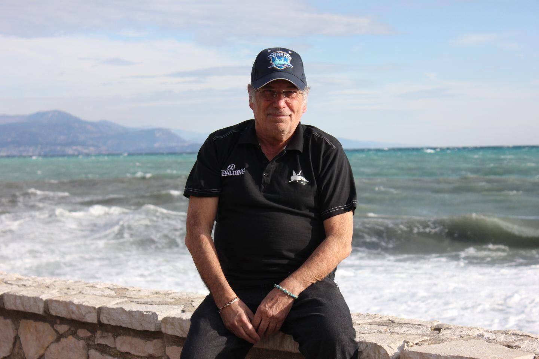 Jean-Louis Audisio donne de son temps pour les Sharks d'Antibes.