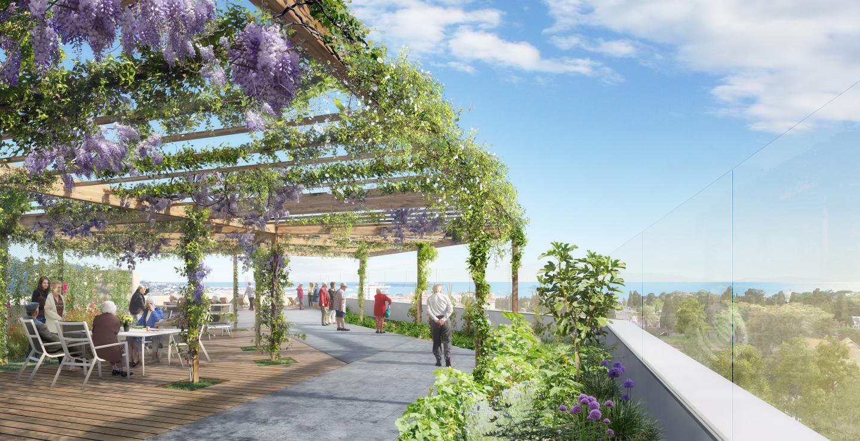 Le nouvel établissement, dont la construction démarrera en novembre, pourrait être livré fin 2022.Infographiste : Golem Plus Architecte : Maes Architectes Urbanistes