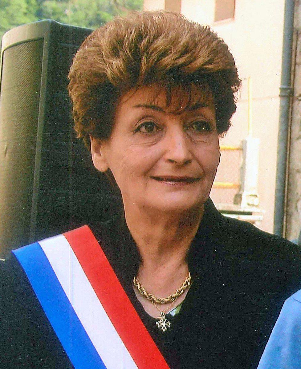 Josette Auvaro a été maire de 1995 à 2008.(DR)