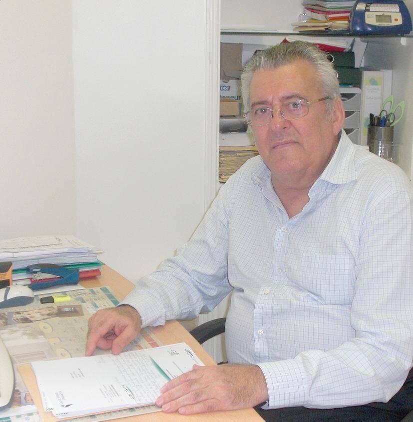 Paul Rasori, ici en 2011.
