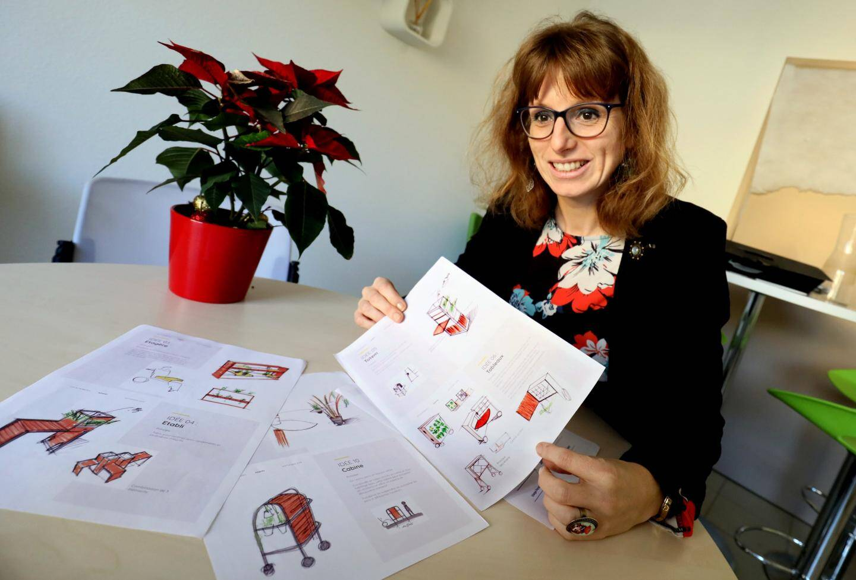 Marie-Aude Mathieu, directrice adjointe de l'Adapei Var-Méditerranée, est particulièrement investie dans le projet.