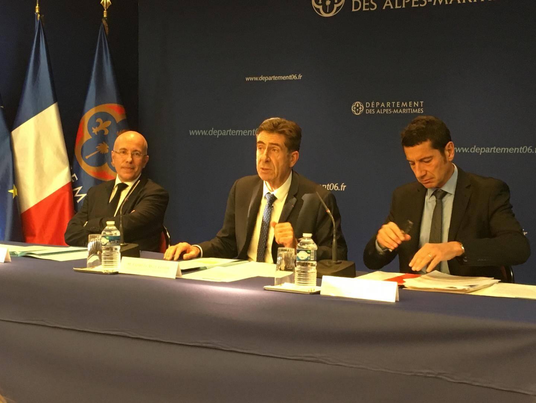 En novembre 2018, Eric Ciotti, Charles-Ange Ginésy et David Lisnard avaient tenue une conférence de presse pour dénoncer «un scandale d'Etat».