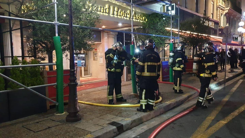 Près d'une trentaine de sapeurs pompiers ont été dépêchés sur les lieux.