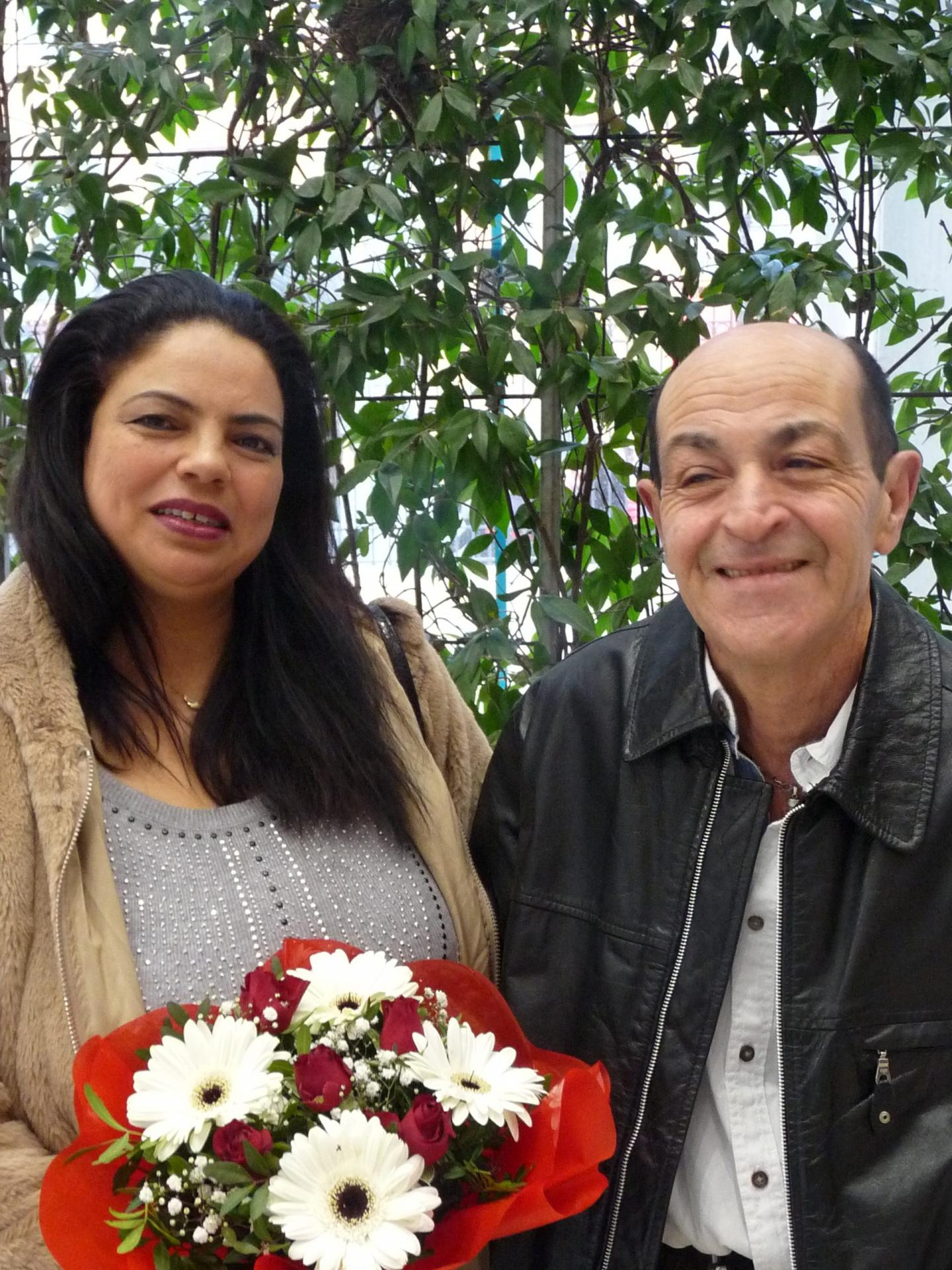 Nadia et Christian.