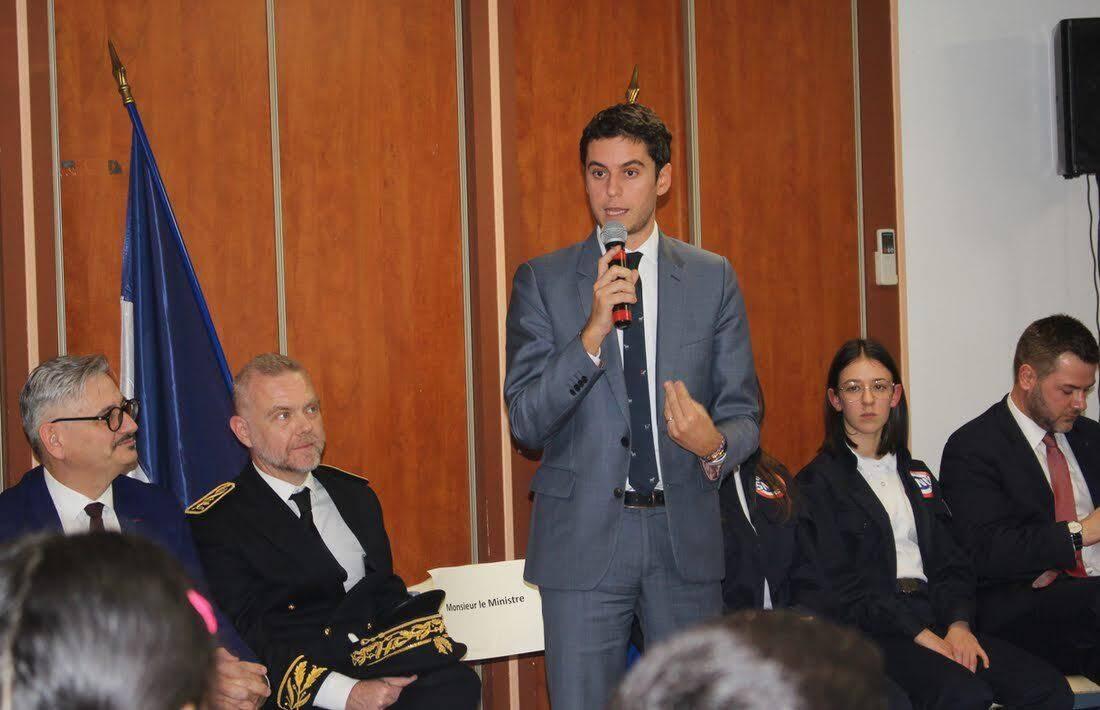 Gabriel Attal, secrétaire d'état auprès du ministre de l'Éducation et de la Jeunesse.