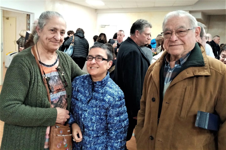 Une belle preuve de courage et d'abnégation donnée par Pascale Lucido, qui travaille depuis 35 ans malgré son handicap.