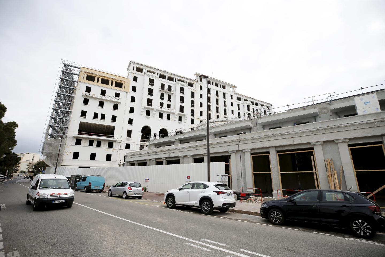 En 2023, le nouveau Provençal sera enfin livré. D'ici là, les travaux se poursuivent sur le site avec la création de boutiques et la préparation du bâtiment ancien à accueillir des logements de luxe.