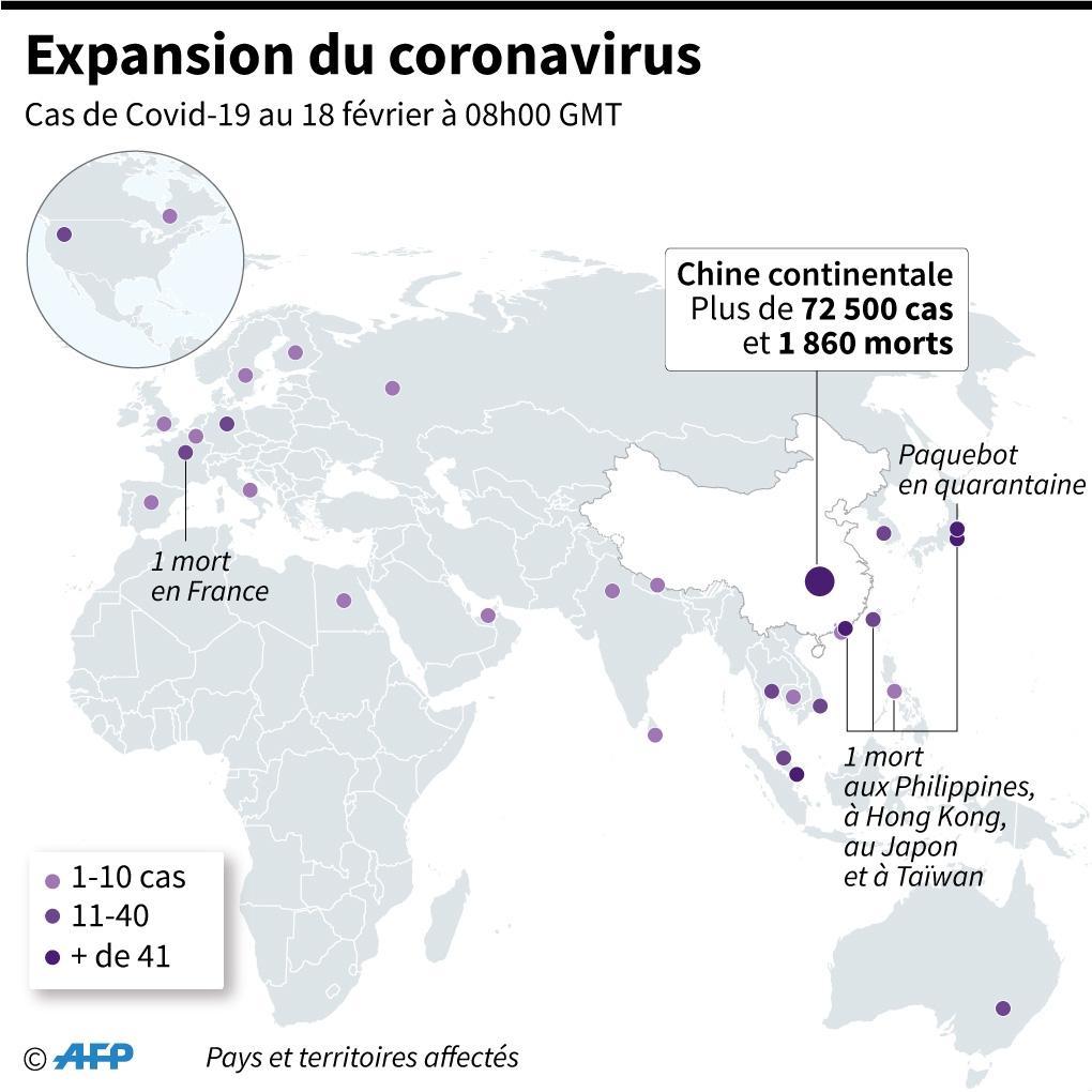 Expansion du coronavirus