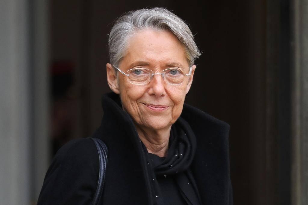 Elisabeth Borne à l'Elysée en décembre 2019.