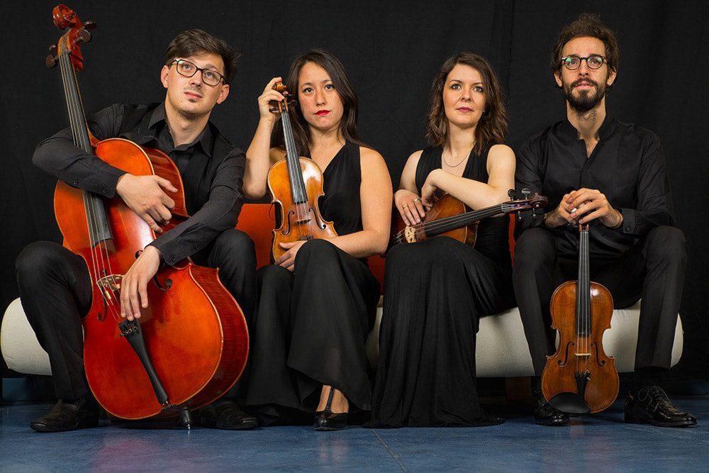 Le quatuor Indaco.(DR)