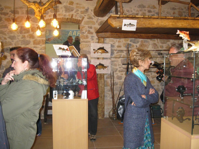 Une salle est dédiée au musée de la pêche.