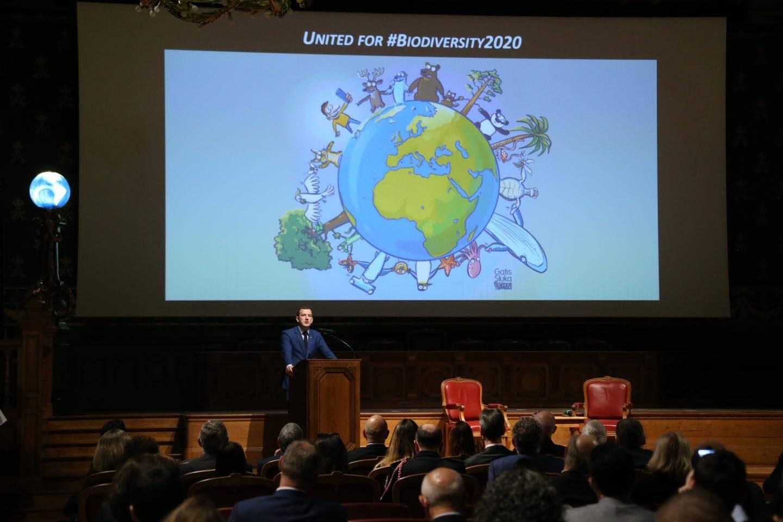 Virginijus Sinkevicius, commissaire européen chargé de l'environnement, des océans et de la pêche, a annoncé le lancement de la nouvelle coalition pour la biodiversité.