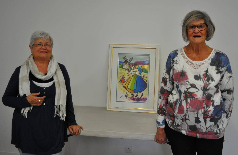 Martine di Mauro et Jeanne Gravier co-président désormais Âge Tresen.