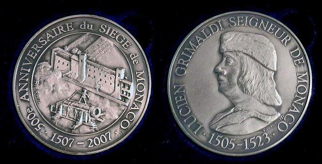 Médailles Siège 1506-1507.