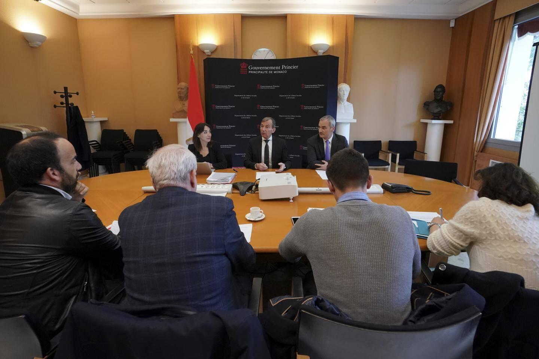 Le conseiller-ministre Didier Gamerdinger a présenté lundi les ambitions du pays sur ce dossier, en présence notamment du président de l'Amapei, Jean-François Calmes.