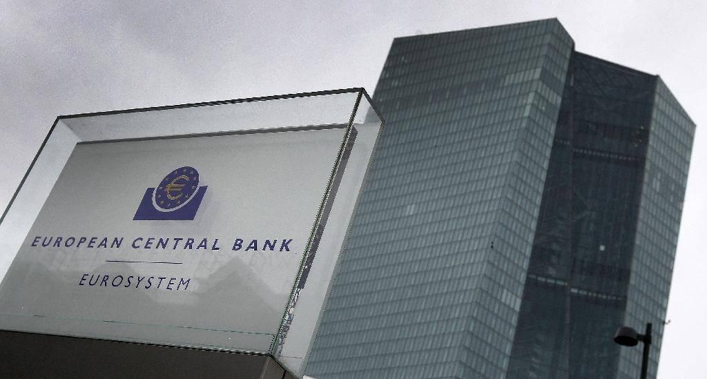 Le siège de la Banque centrale européenne à Francfort (Allemagne) le 12 mars 2020.