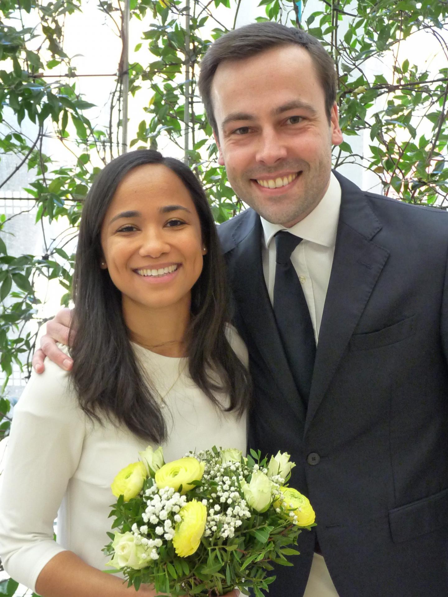 Erika et Guillaume.