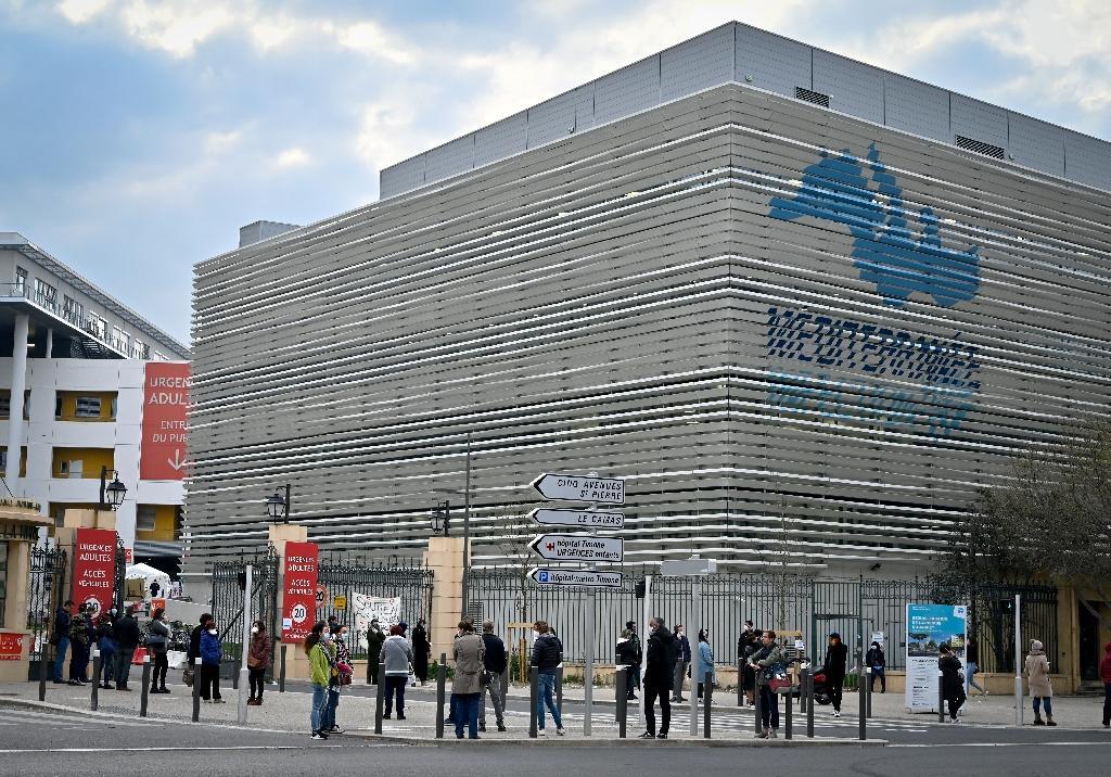 L'Institut IHU Méditerranée Infection, à Marseille, le 23 mars 2020