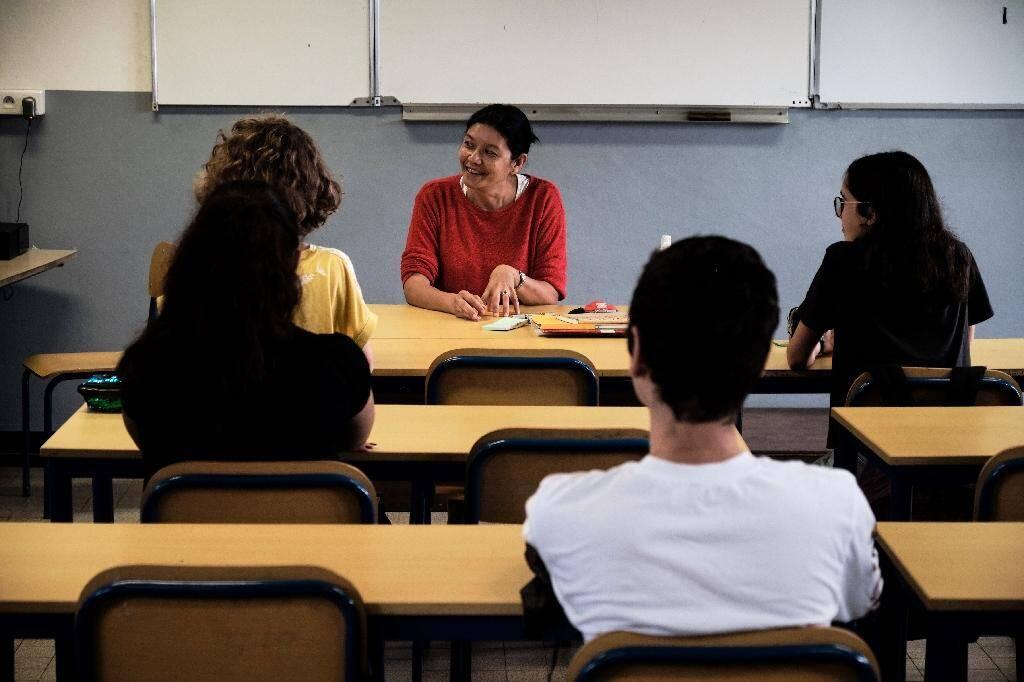 Rentrée des classes le 22 avril 2020 dans un lycée de Nouméa
