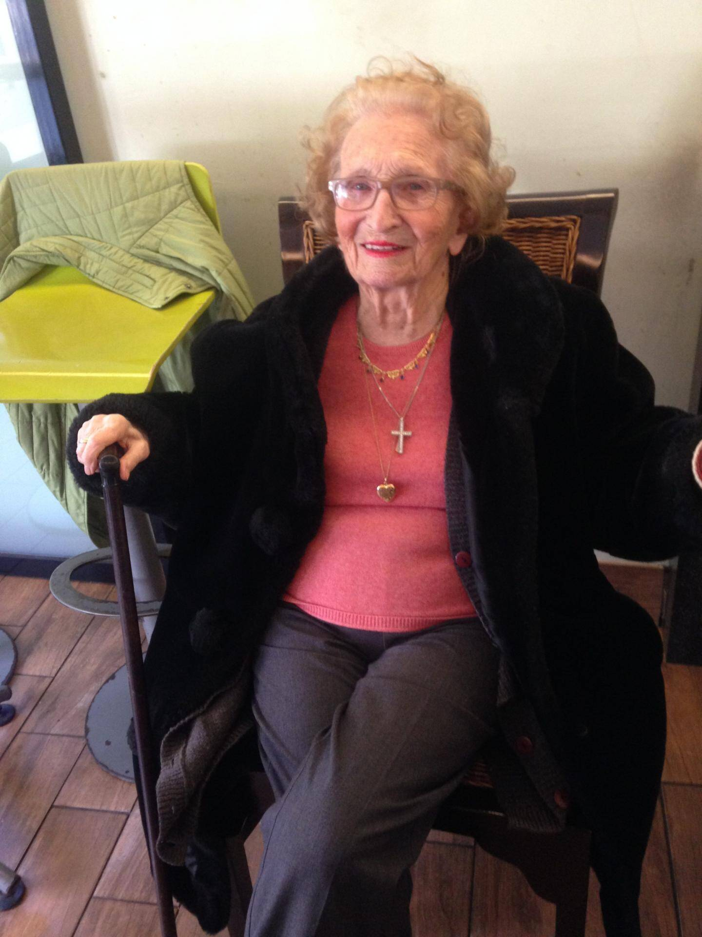 Odette Noyer venait d'avoir 94 ans.