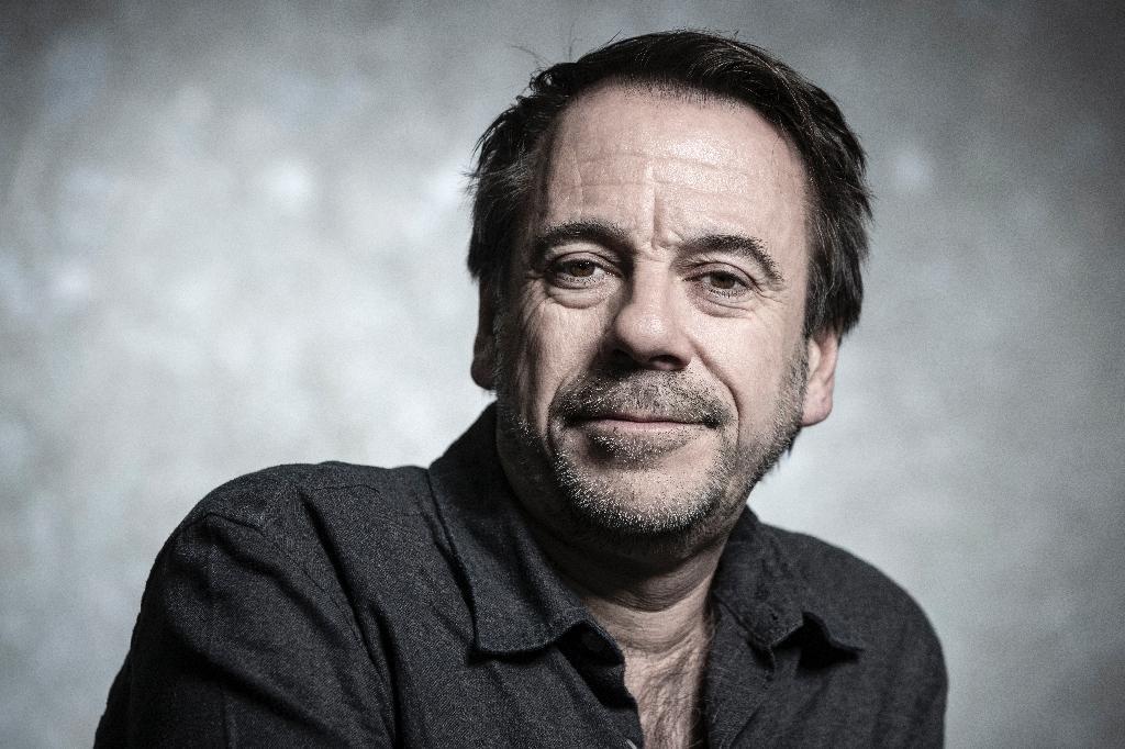 Le romancier Michel Bussi en janvier 2019 à Paris