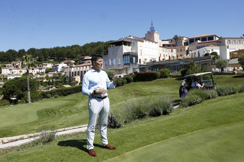 « ça peut donner envie aux gens de jouer au golf », avoue le directeur, Franck Le Blevec.