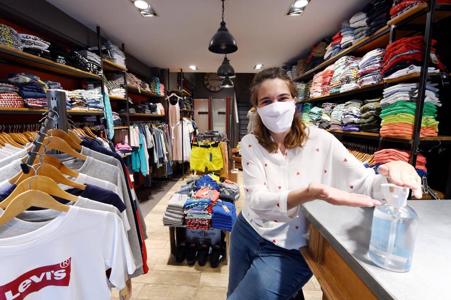 Auréline Ugo, gérante de l' Entrepôt.